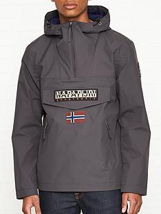 napapijri-rainforest-pocket-anorak-charcoal