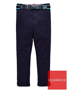 332115bc89dc8 Baker by Ted Baker Boys Belted Chino Trousers