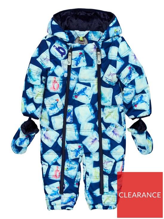bac46dde3 Baker by Ted Baker Baby Boys Penguin Snowsuit