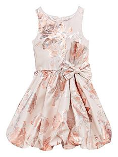 baker-by-ted-baker-girls-foil-print-bubble-hem-dress