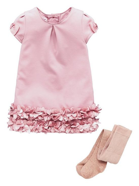 a8f8eb725 Baker by Ted Baker Baby Girls 3d Rose And Tights Set | very.co.uk