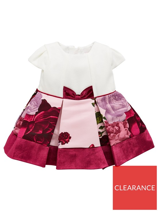 ce71b45d498e Baker by Ted Baker Baby Girls Rose Mockable Dress | very.co.uk