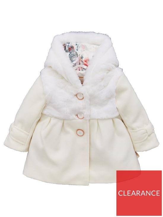 e928fe5f5669 Baker by Ted Baker Toddler Girls Wool Coat