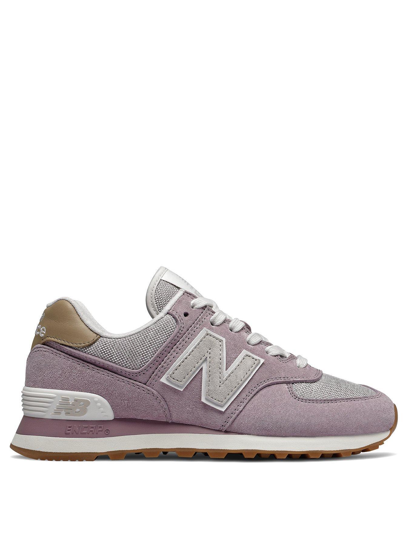 new balance trainers women 574 pink