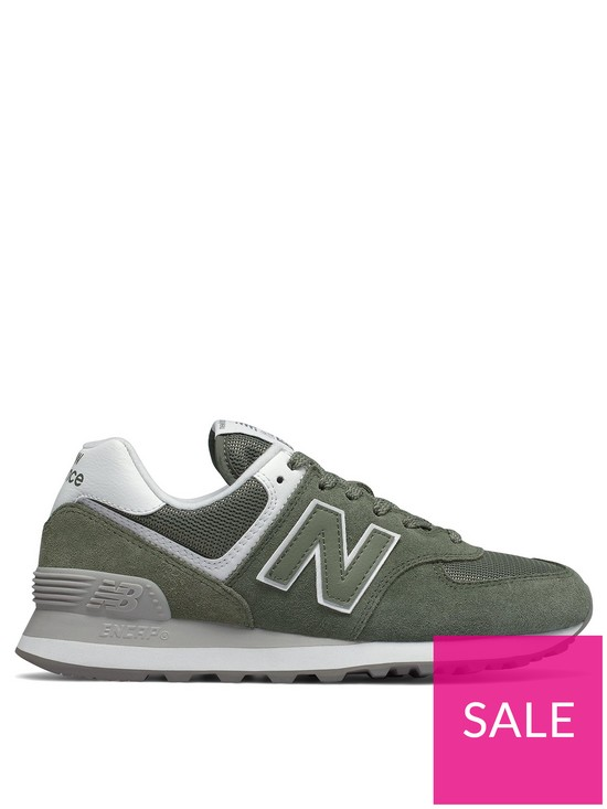pick up f00dd 8c998 New Balance 574 - Khaki White