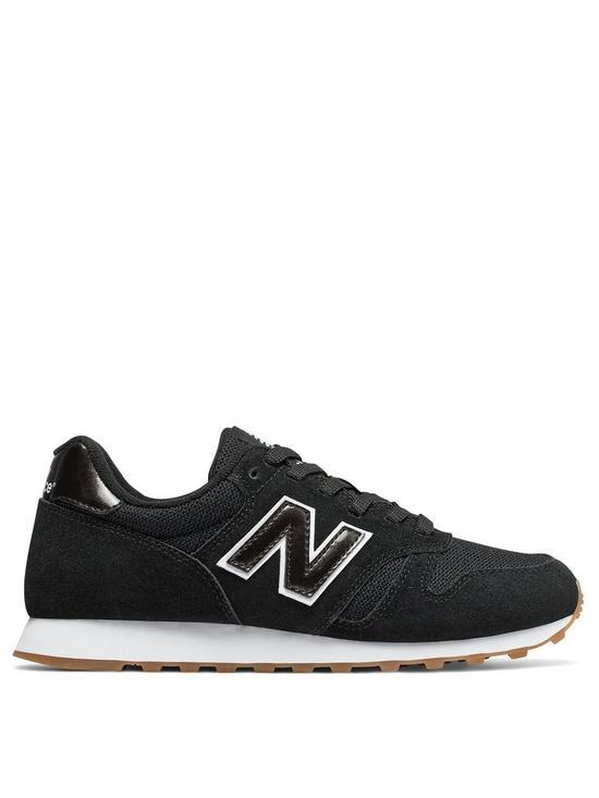 size 40 ff1a9 3c807 New Balance 373 - Black