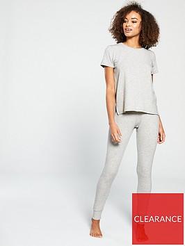 v-by-very-short-sleevednbsplightweight-knitted-lounge-set