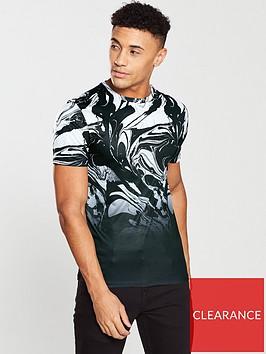 river-island-marble-print-slim-fit-t-shirt