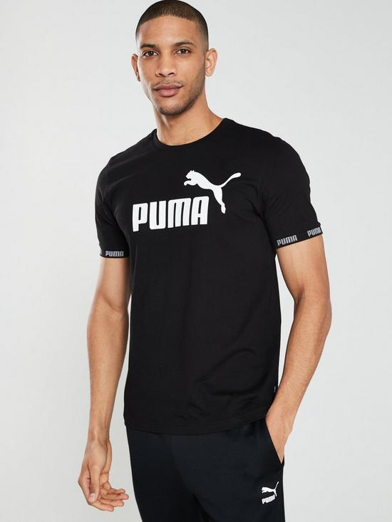 175ce321301 Puma Amplified Big Logo T-shirt | very.co.uk