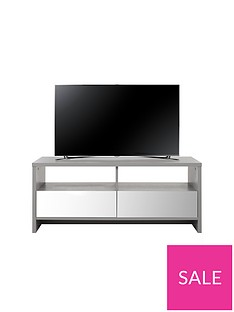 Kyoto Mirror Effect Storage TV Unit - fits up to 42 Inch TV
