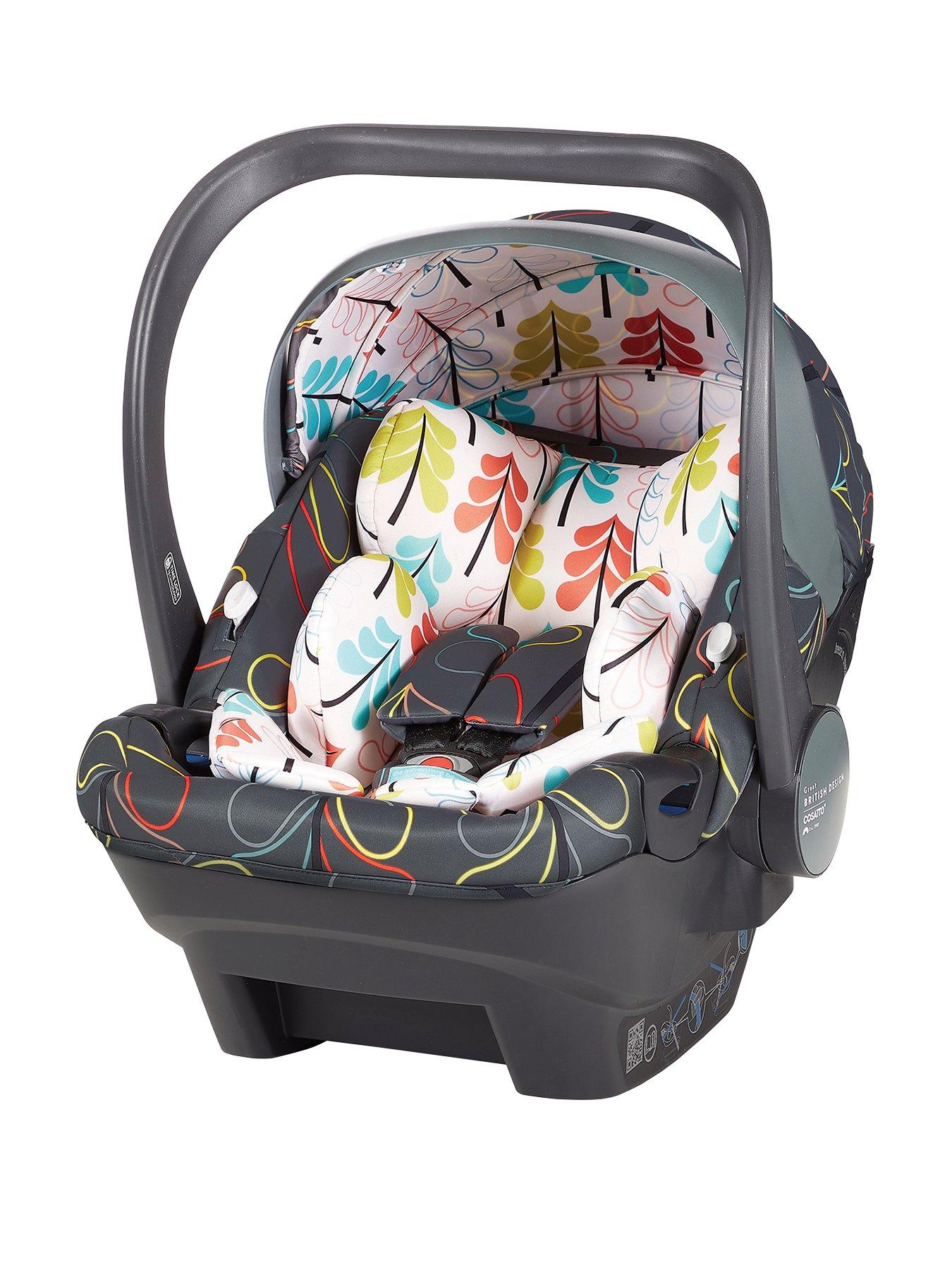 Sweet Baby Soft Design Seat Reducer Newborn Insert Head Cushion for Baby Car Seat Size 0//0 apple