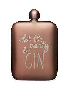 kitchencraft-stainless-steel-gin-slogan-hip-flask