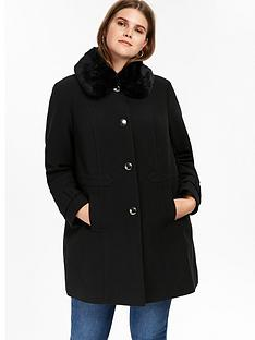 evans-faux-fur-collar-coat-black