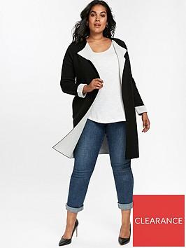 evans-contrast-coatigan-black