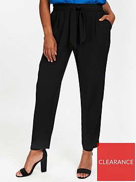 evans-tie-waist-tapered-trouser-black