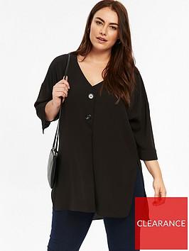 evans-button-tunic-top-black