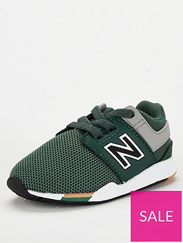 new-balance-247-infant-hook-and-loop-trainers-khakiwhite