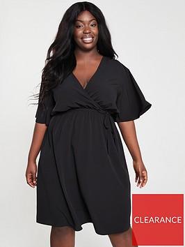 v-by-very-curve-kimono-sleeve-wrap-dress-black