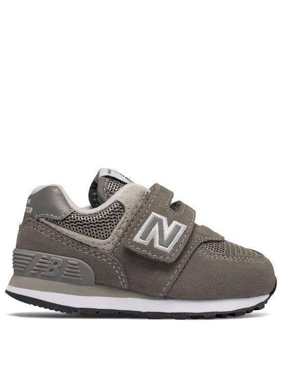 low cost f1aad c4232 New Balance New Balance 574 Infant Hook and Loop Trainer   very.co.uk