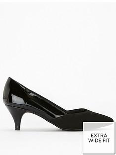 evans-extra-wide-fit-sweetheart-kitten-heel-shoe-black