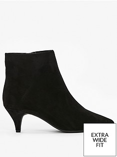evans-extra-wide-fit-kitten-ankle-boot-black