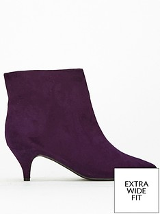 evans-extra-wide-fit-kitten-ankle-boot-purple