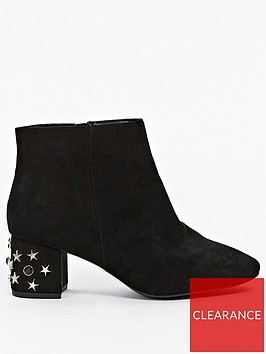 evans-extra-wide-fit-star-embellished-heel-ankle-boot-black
