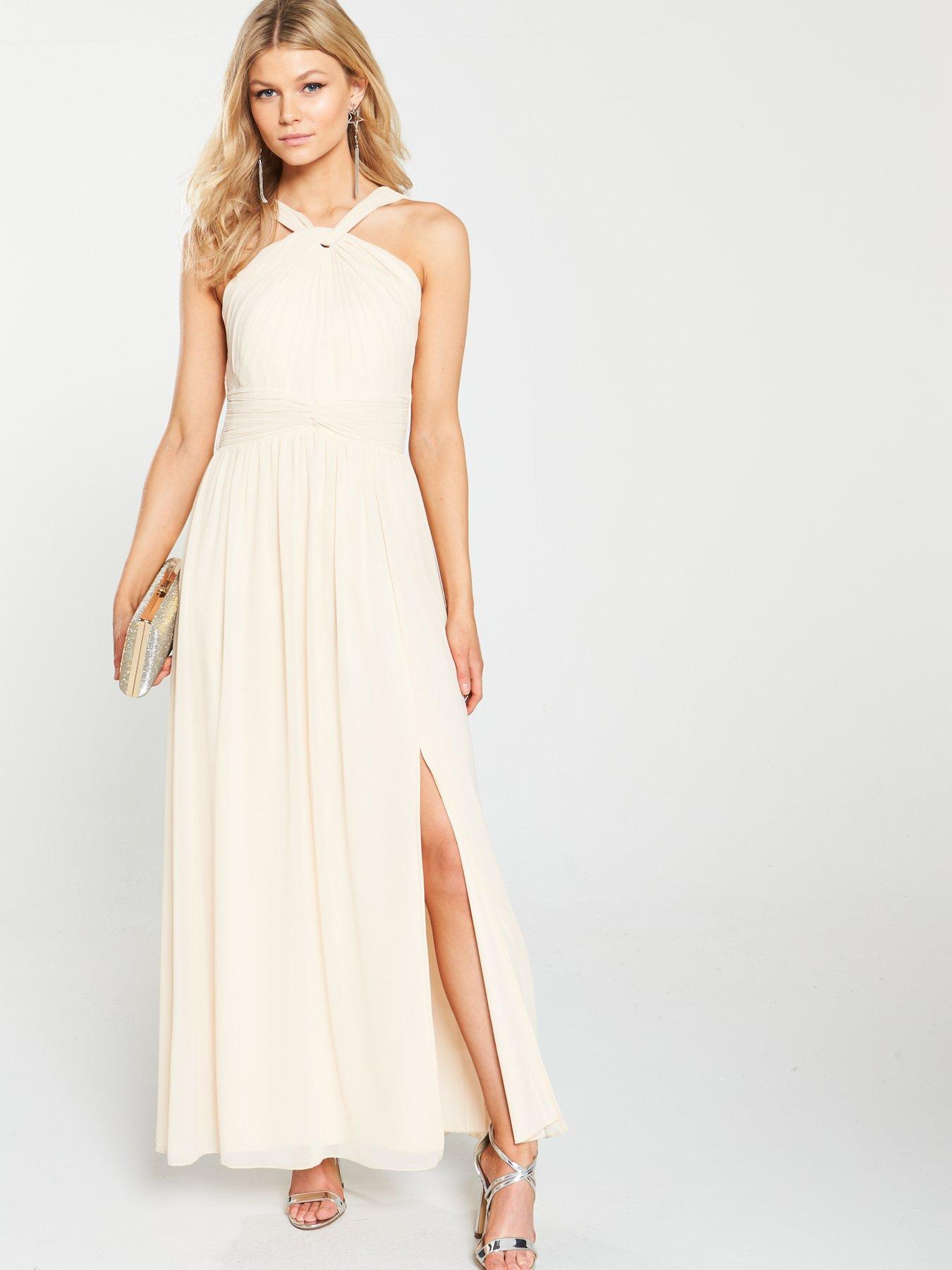 Long White Maxi Dresses Women