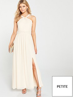 little-mistress-petite-little-mistress-petite-halter-neck-maxi-dress