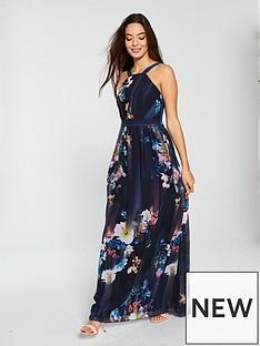 little-mistress-floral-print-chiffon-maxi-dress-multinbsp