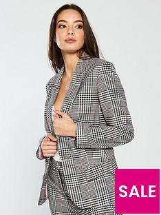 vero-moda-cheerful-check-blazer