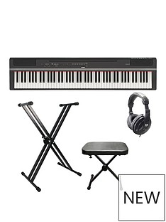 yamaha-yamaha-p-125-digital-piano-with-stand-bench-headphones-and-online-lessons