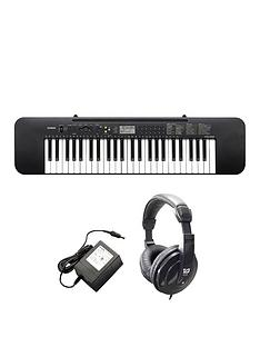 casio-casio-ctk-240-keyboard-with-power-adaptor-headphones-and-online-lessons