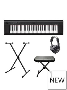 yamaha-yamaha-piaggero-np12-electronic-keyboard-with-stand-bench-headphones-and-online-lessons