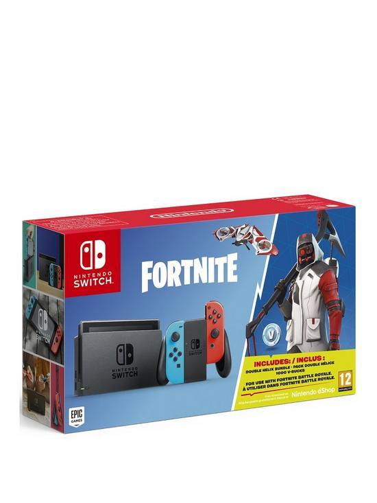 Nintendo Switch Fortnite Console Bundle Very Co Uk