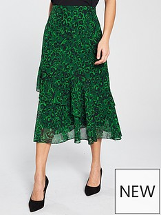 whistles-jungle-cat-print-midi-skirt
