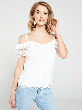 v-by-very-guipure-lace-coldshoulder-top