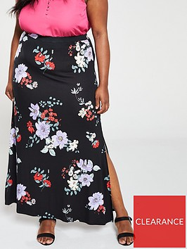 v-by-very-curve-jersey-maxi-skirt-floral-print