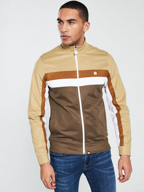 3c4fc70a Pretty Green Contrast Panel Track Top | very.co.uk