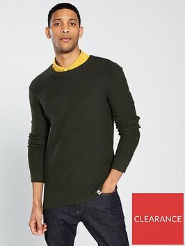 pretty-green-texture-knitted-crew-neck-jumper--nbspkhaki