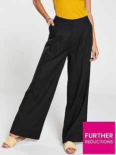 v-by-very-wide-leg-linen-trousers-black