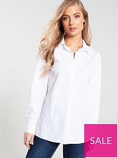 v-by-very-longline-shirt-white