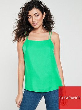 v-by-very-double-strap-cami-bright-green