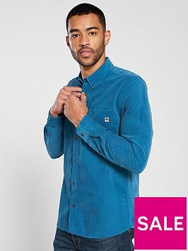 pretty-green-slim-fit-fine-cord-shirt-blue
