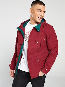 pretty-green-contrast-hooded-jacket-red