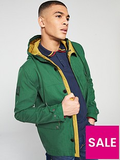 pretty-green-contrast-hooded-jacket-green