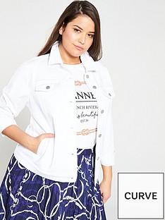 v-by-very-curve-longline-denim-jacket-white