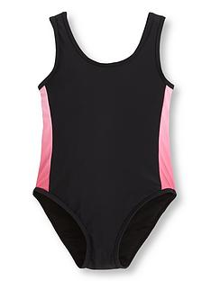 v-by-very-girls-colour-fully-lined-trim-swim-suit-black