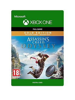 Xbox One Assassins Creed Odyssey: Gold Edition - Digital Download