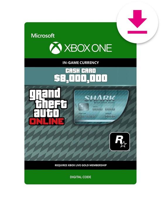 gta megalodon shark card xbox one